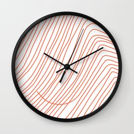 My hair on a good day Wall Clock