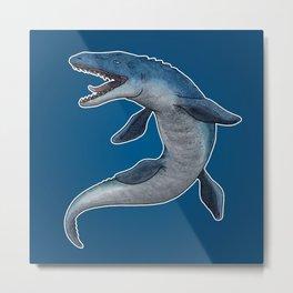 Mosasaurus Metal Print