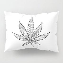 Minimal Marijuana Pillow Sham