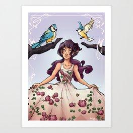 New Flowers Art Print