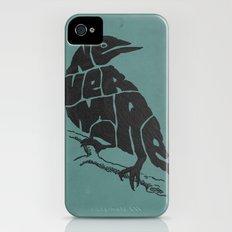 Quoth the raven iPhone (4, 4s) Slim Case