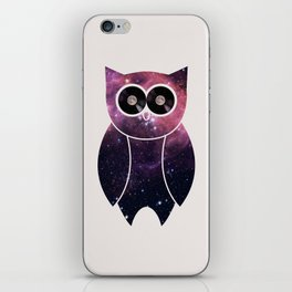 Owl Night Long iPhone Skin