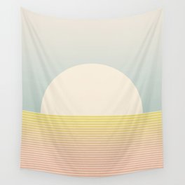 Sunrise / Sunset Abstract Gradient I Wall Tapestry