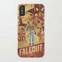 fallout iPhone & iPod Cases featuring FALLOUT FAN ART by Salty!
