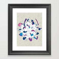 Fistycuffs Framed Art Print