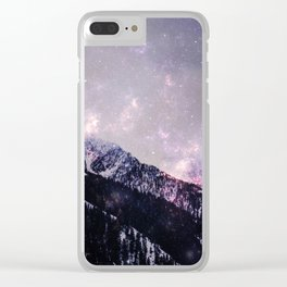 Winter howl Clear iPhone Case