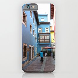 Ribadesella streets 2 iPhone Case