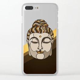 Buddha Clear iPhone Case