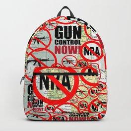 No Guns, Gun Control Now on Map Backpack
