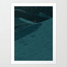 Dune Time Art Print