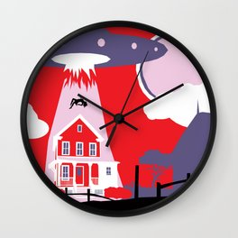 LOST TIME :: NOCTURNAL VISITATION Wall Clock