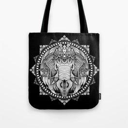 Elephant Medallion Tote Bag
