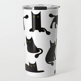 Lucky Black Cat Travel Mug