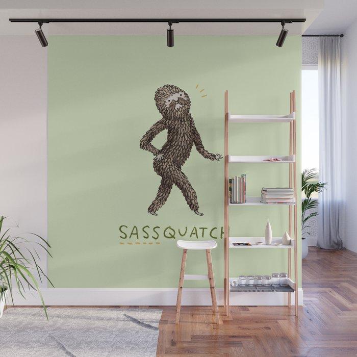Sassquatch Wall Mural