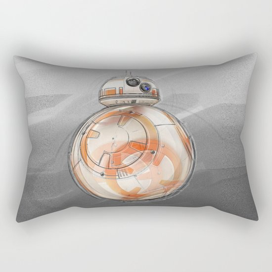 BB8 - on the move Rectangular Pillow