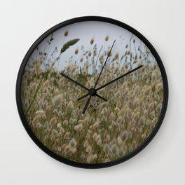 Burgundy Wall Clock