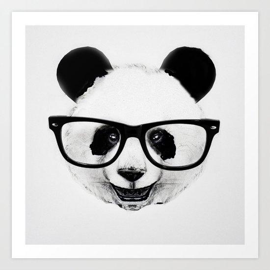 Mr. Panda Art Print