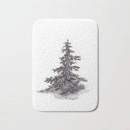 Lonely Pine Tree Bath Mat