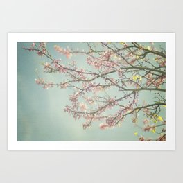 Spring is here Art Print