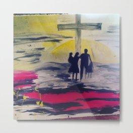 At The Cross (COLOR VERSION) Metal Print