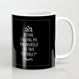 Is This Textable Coffee Mug