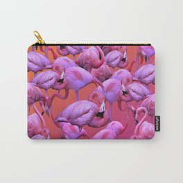 Flamingos Sunrise Carry-All Pouch
