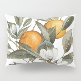 Orange Blossom Pillow Sham