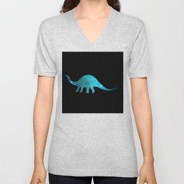 Apatosaurus Unisex V-Neck