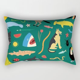 Lawn Party Rectangular Pillow