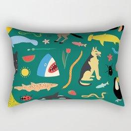 Lawn Party Rectangular Pillow