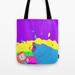 Flippin the bear Tote Bag