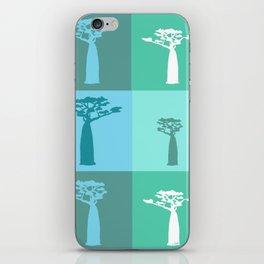 Baobab Azure iPhone Skin
