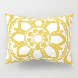 Mustard Yellow Ornament Pillow Sham