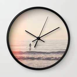 Vintage Paddler Wall Clock