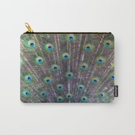 A Peacock's Trance Carry-All Pouch