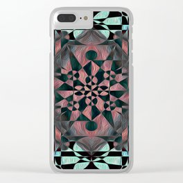 ®∑HÅNd Clear iPhone Case