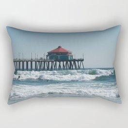 Huntington Beach Life Rectangular Pillow