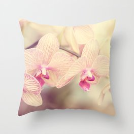 Orchid IV Throw Pillow