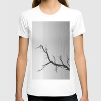 wood T-shirts featuring Wood by Laura James Cook