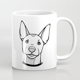 Miniature Pinscher Portrait Coffee Mug