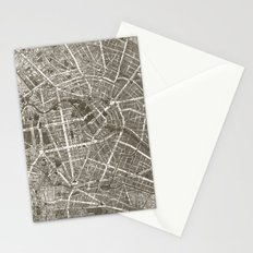 Berlin Map Stationery Cards