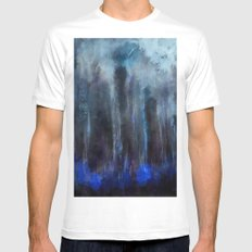 Forest of soul White Mens Fitted Tee MEDIUM