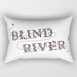 BR Holiday Lights Rectangular Pillow
