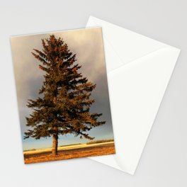 Alone at Dusk Stationery Cards