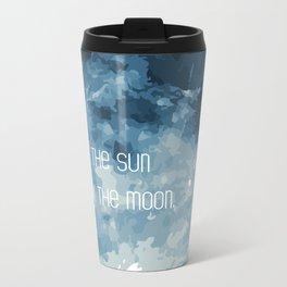 Love By The Moon Metal Travel Mug