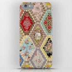 13-Panel Hexagon Quilt Slim Case iPhone 6 Plus