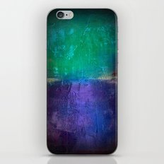 Untitled purple and green iPhone & iPod Skin