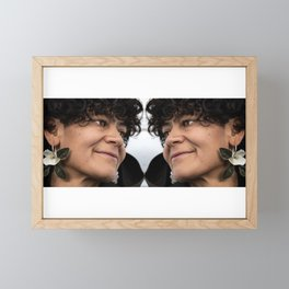 Love Is... Beginning With Yourself Framed Mini Art Print