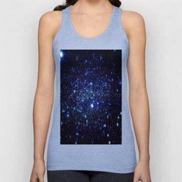 Dark Blue Stars Unisex Tank Top