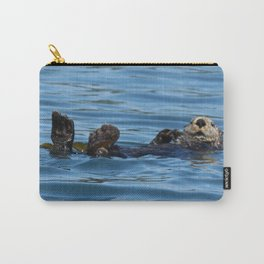 Sea Otter Photography Print Carry-All Pouch